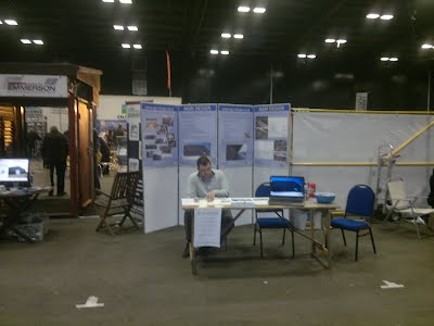 Agri Design's stand at the Agrucultural Buildings Show March 2013