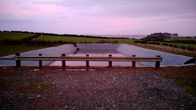 New slurry Lagoon